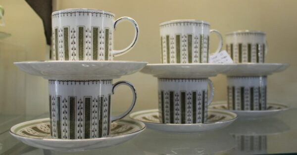 morpeth antique centre hunter valley susie cooper wedgewood cup saucer tea coffee set